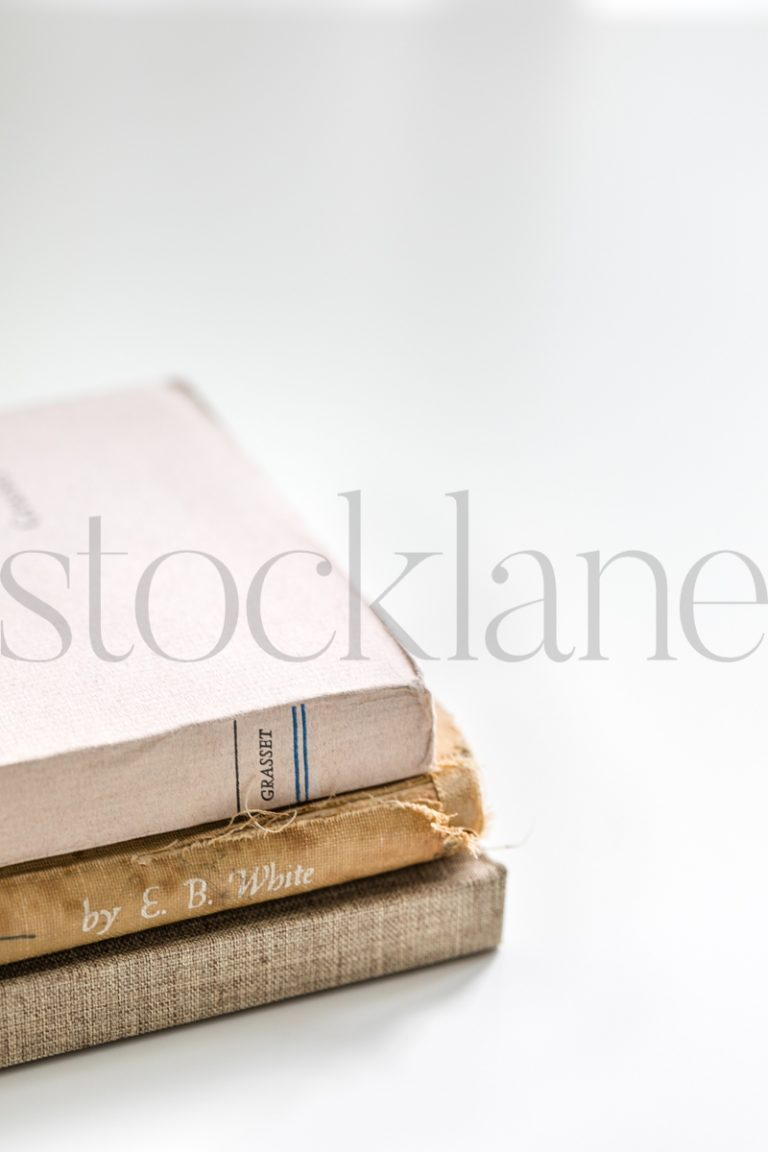 Vertical Stock photo with books