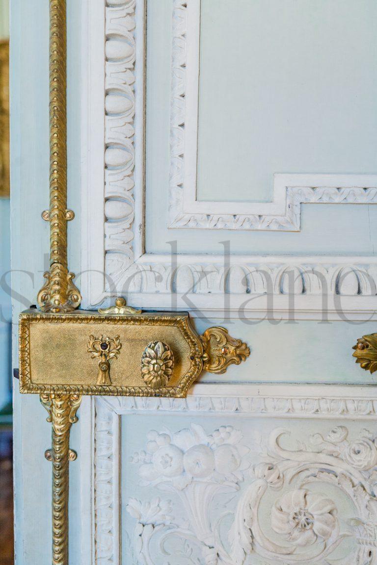 Vertical stock photo of door