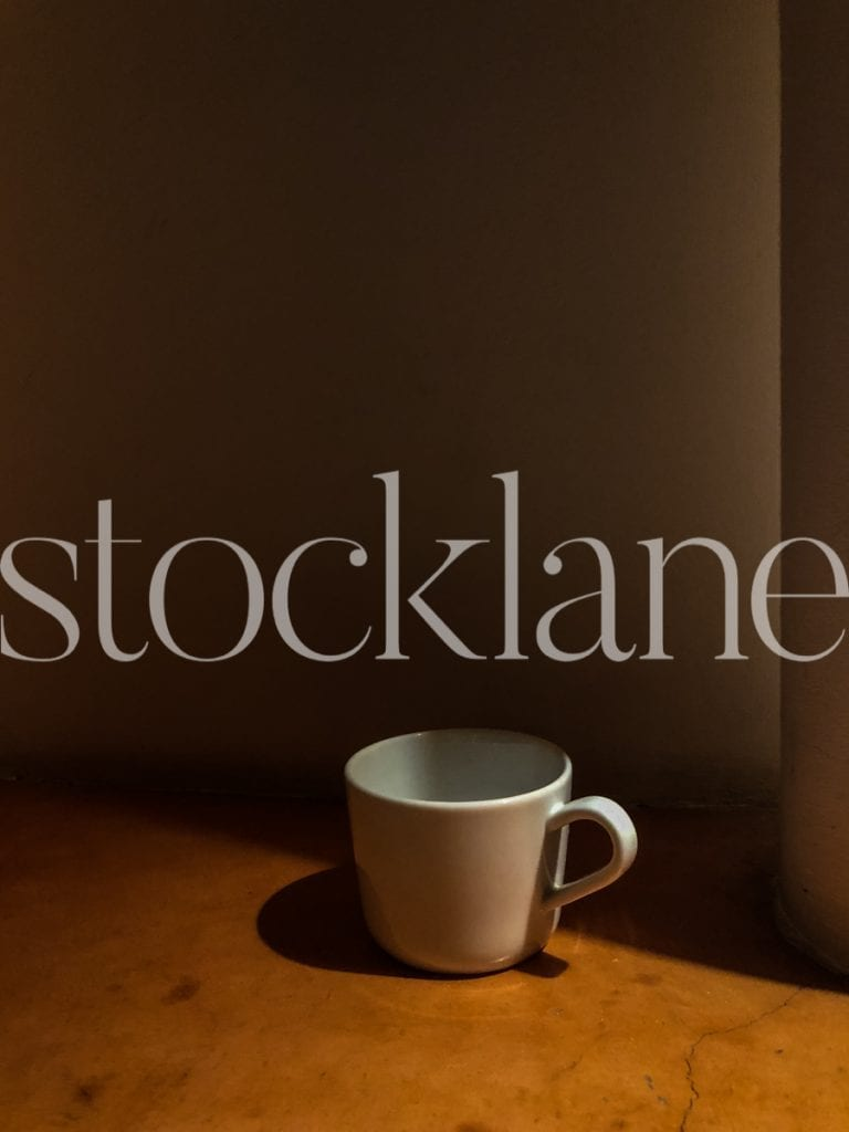Vertical Stock photo of a cup