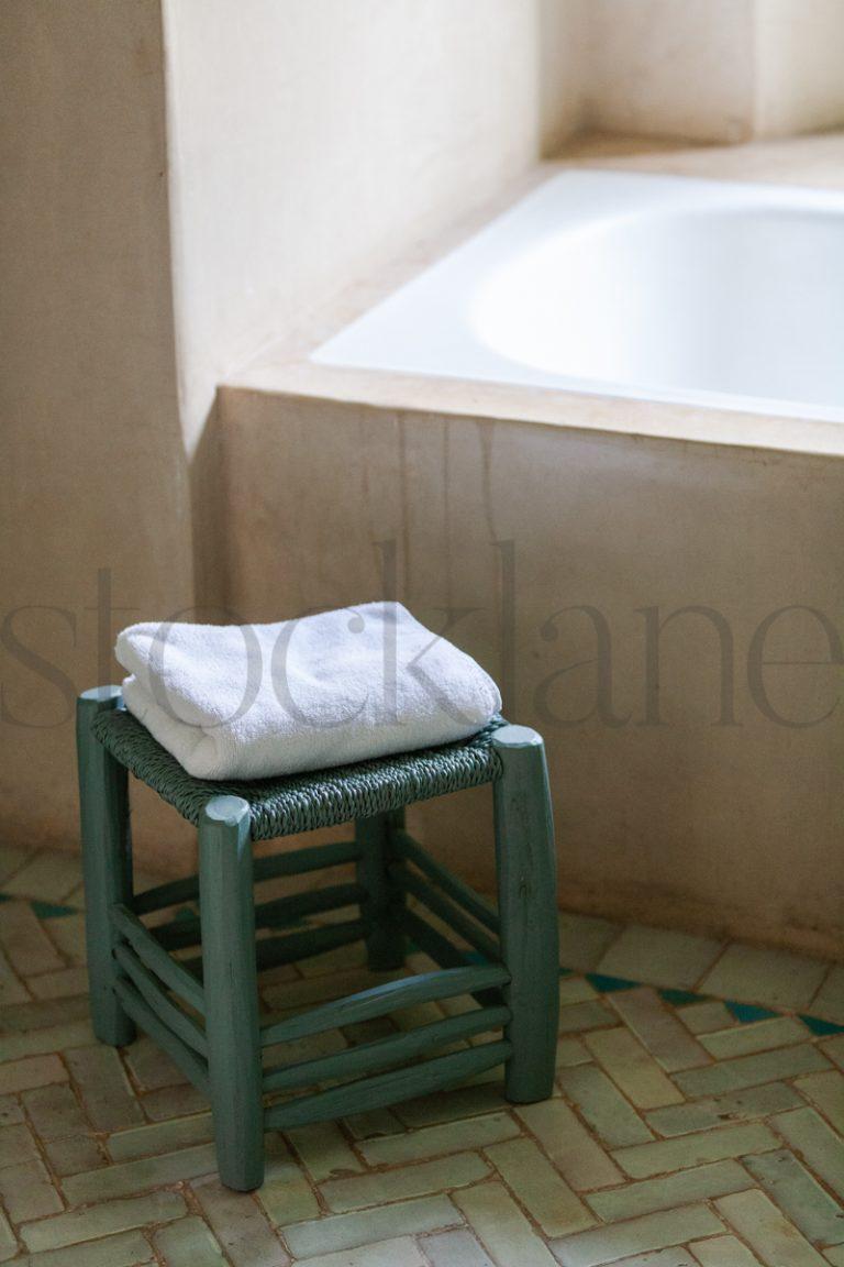 Vertical Stock photo of bathtub