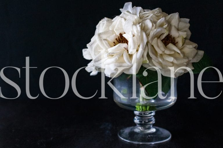 Horizontal stock photo of flower arrangement