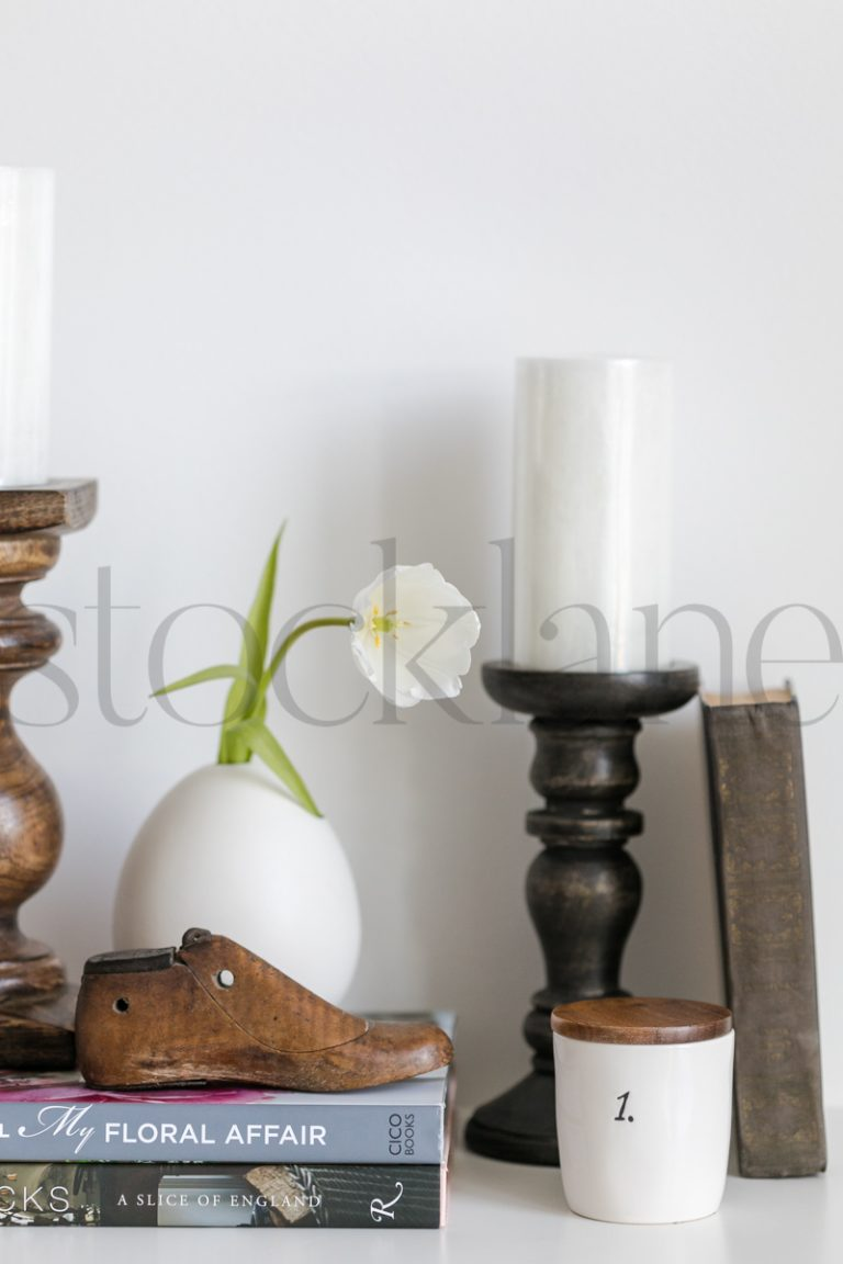 Vertical stock photo of home decor