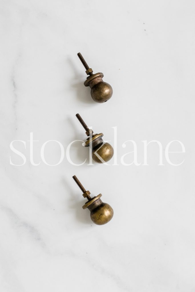 Vertical stock photo of furniture hardware